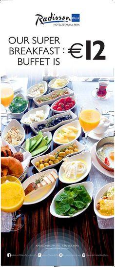 Open Buffet Breakfast, Açık Büfe Kahvaltı