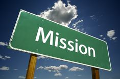mission | bigstock_Mission_Road_Sign_3531003