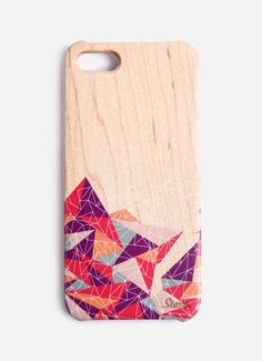 Stave Maple Magenta Case Iphone 5. This case made of a wood that with a graphic details, cools case for your gadget, perfect for you who love unique thing, this one is a must, since this look so stylish yet so simple. http://www.zocko.com/z/JHZGA