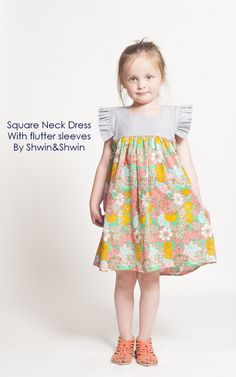 Shwin&Shwin: Square Neck Dress || Tutorial || Summer Collection