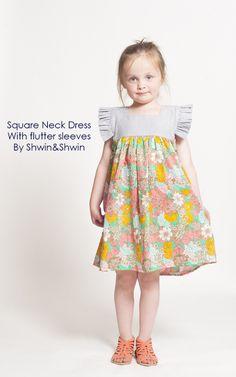 Tutoriel robe d'été enfant