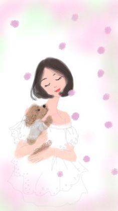サクラ サクラ #illustration#girl#イラストレーター#女の子