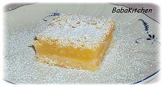 petits carrés au citron  http://www.babakitchen.be/article-les-petits-carres-au-citron-76168136.html