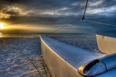 Beach sunset, Naples Florida