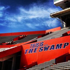 The Swamp is Ben Hill Griffin Stadium at Florida Field. University of Florida, Gainesville, FL. GO GATORS! http://www.GainesvilleFloridaHomes.com