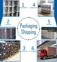 package and ship. and then our products will be in your factory.