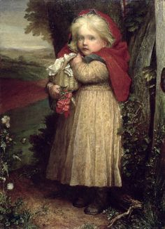 George Frederick Watts Painting For Kids, Painting Frames, Children Painting, Exactly Like You, Red Riding Hood, Little Red, Sell Your Art, Serenity, Fine Art Prints