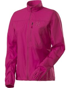 Haglöfs Shield -juoksutakki (109 €)  #Haglofs #Pink Athletic, Zip, My Favorite Things, Fitness, Jackets, Fashion, Down Jackets, Moda, Athlete