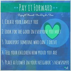 Pay It Forward Quotes Stunning Pay It Forward Italian Things  Pinterest