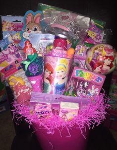 Disney Princess Filled Easter Basket by GingerellasBows on Etsy Filled Easter Baskets, Disney Princess, Handmade Gifts, Room, Crafts, Etsy, Girls Toys, Kid Craft Gifts, Bedroom