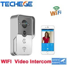 New Hot HD 720P Wifi Doorbell Camera Wireless Video Intercom Phone Control IP Door Phone Wireless Door bell  IOS Android
