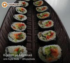Κιμπάπ με λαχανικά Sushi, Japanese, Ethnic Recipes, Food, Japanese Language, Essen, Meals, Yemek, Eten