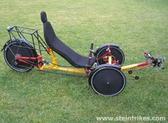 Narrow track suspended recumbent sport tricycle with big capatibilities for every day and sport usage Recumbent Bicycle, Power Bike, Pedal Cars, Backyard Projects, Electric Car, Travel Tours, Bike Design, Go Kart, Water Crafts