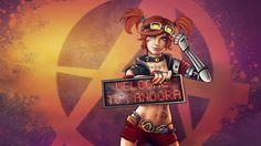 Download 1920x1080 HD Wallpaper borderlands 2 gaige redhead cute, Desktop Backgrounds HD
