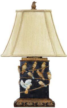 Dimond Lighting 93-530 7 by 20-Inch Birds on A Branch 1-L...