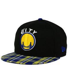 New Era Golden State Warriors Plaid 9FIFTY Snapback Cap Curry Warriors 384189ccbb88