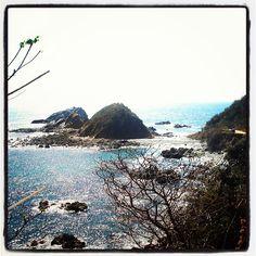 Panorámica de la Playa Tijera #Pochutla