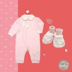 Valentine's Day outfit for baby girl | Hallmark Baby Clothes *OUT OF STOCK*