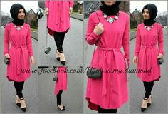 Skinny pant and long frock/dress w