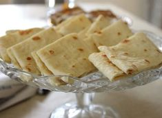 "A Grandmonther's Legacy: Lefser, and she's right. It's nothing like my Grandma's ""lefse"" Bread Rolls, Nom Nom, Food And Drink, Tasty, Nutrition, Treats, Cookies, Baking, Cake"
