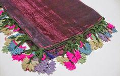 Needle Lace, Lace Flowers, Floral Fabric, Head Wraps, Grapevine Wreath, Crochet Lace, Folk Art, Needlework, Embellishments