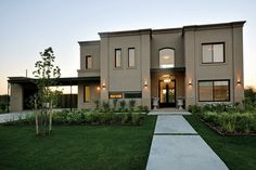 30 Modern Spanish Style Exterior Design Corresponding Our Dream - Minimalist House Design, Minimalist Home, Modern House Design, Contemporary Design, Village House Design, House Front Design, Neoclassical Architecture, Modern Architecture, Casas Country