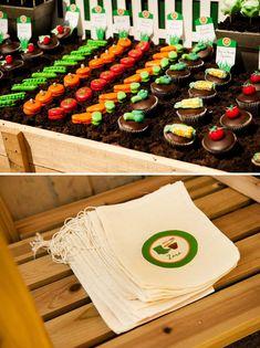 AMAZING Insanely Creative Veggie Patch Birthday Party