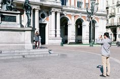 Torino, Piazza Carlo Alberto - Mattia Boero Fotografo
