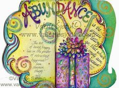 visual blessings: Art Journaling in Abundance