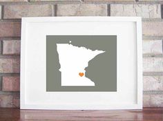 This wouldn't be too hard either.. maybe I can find a print out of Minnesota's shape... then home wouldn't seem so far away