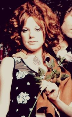 Pamela Courson. She dances in a ring of fire..