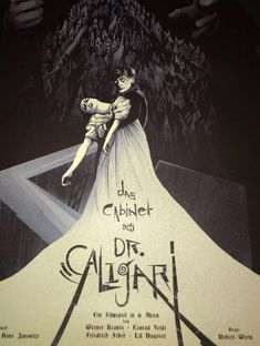 The Cabinet of Dr. Caligari Kevin Tong M Horror Movie Posters, Film Posters, Horror Movies, Dr Caligari, Halloween Photography, Horror Themes, Friedrich, Alternative Movie Posters, Silent Film