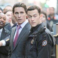 Christian Bale and Joseph Gordon-Levitt Take Over NYC With Dark Knight Rises