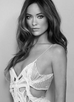 Olivia Wilde beautiful celebrity woman decolletage portrait female face T: oliviawilde