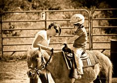 I think everyone should have to wear a Dora The Explorer Helmet to ride at the ranch.....lol  How... pinned with Pinvolve