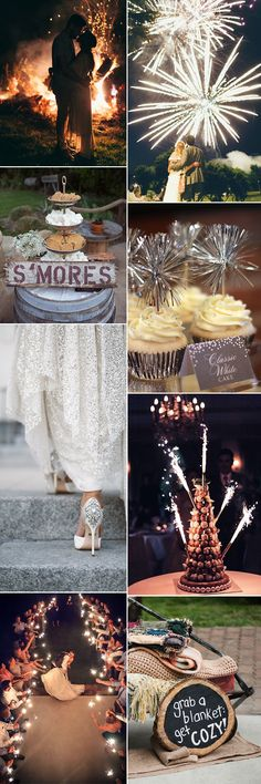 Firework wedding inspiration for 5 November! GlitzySecrets - GS Inspiration