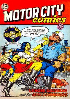 Motor City Comics 1 by #Robert_Crumb #underground_comics