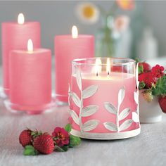Yum! Wild strawberry. Www.partylite.biz/stephaniejoana