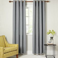 The Ultimate Guide To Buying Curtains | sheerluxe.com Indian Blue, Curtain Poles, Nazca Lines, John Lewis, Blue Sofas, Bedroom Decor, Bedroom Ideas, Master Bedroom, Curtains