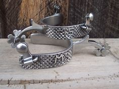 handmade spurs | Custom Handmade Spurs and Bits, Large Variety Rowls to choose from ...