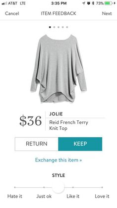 This looks like a dream top.loose fitting, covers the butt, and dropped shoulder hemline. Love the price. Add a bright color Fix Clothing, Clothing Ideas, Stitch Fix Fall, Stitch Fit, How To Wear Leggings, Stitch Fix Outfits, Stitch Fix Stylist, Midi Skirts, My Outfit