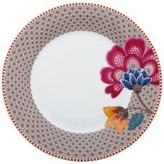 Buy PiP Studio Fantasy Plate, Khaki Online at johnlewis.com