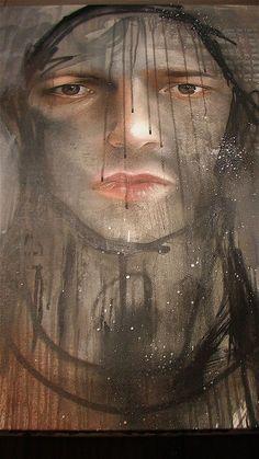 "HERAKUT * Germans *  Jasmin Siddiqui ~ ""Hera"" & Falk Lehman ~ ""Akut"" * graffiti artists ~ murals."