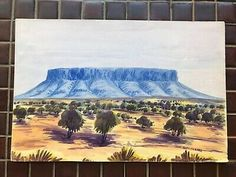 Noel is Contemporary of Namatjira Brothers. He was born at Hermannsburg and passed away at age of 38 in Alice Springs, Australia. Cleaning out my Grandma's house. Alice Springs, Original Paintings, Tapestry, Contemporary, Home Decor, Noel, Hanging Tapestry, Tapestries, Decoration Home