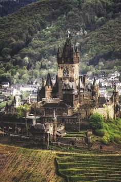 Medieval Castle, Cochem, Germany - my daughter went here and didn't want to leave!