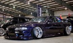 NISSAN s14 silvia♫  感性が高まる自動車速報 ↓ http://geton.goo.to