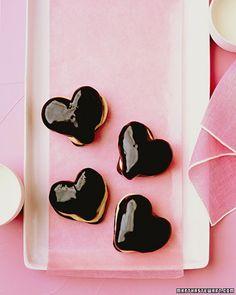 Chocolate Eclair Hearts.