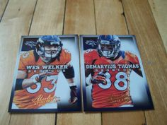 Demaryius Thomas Wes Welker 2013 Panini Absolute Denver Broncos 2 Card Lot | eBay