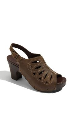 Dansko 'Rowena' these are comfy, have them in black...maybe I need them in brown, too??