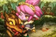 the-trollerdog: Dragon Trainer Tristana by Berg from... #Leagueoflegends